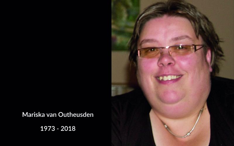 In memoriam Mariska van Outheusden